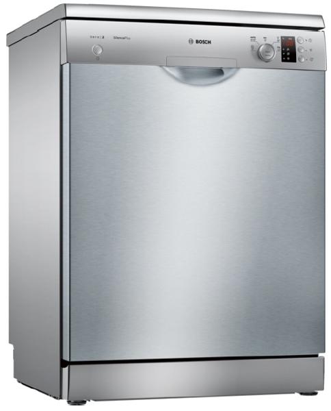Πλυντήριο Πιάτων Bosch Serie 2 SMS25ΑΙ02Ε Inox 60 cm Α++ - Electronet.gr d5d67625dfe