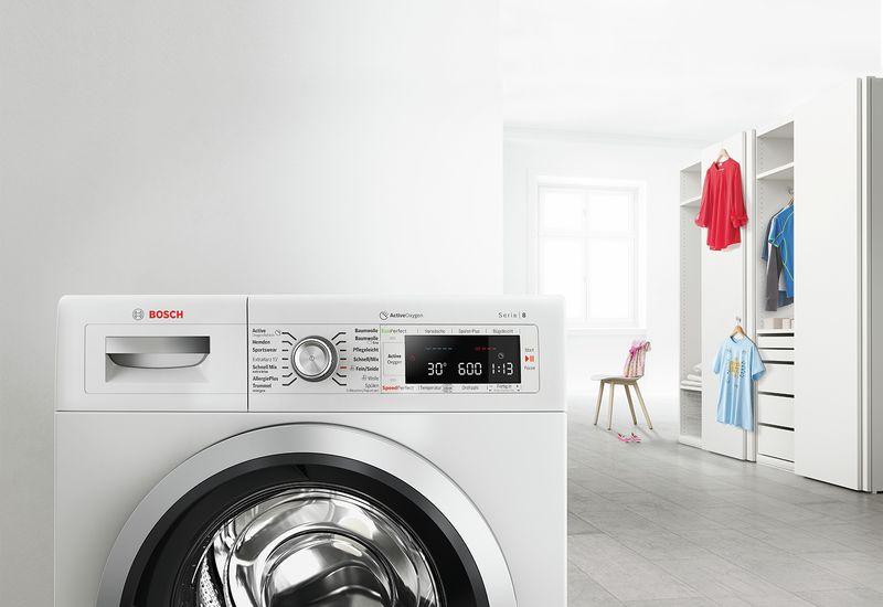 Τα πλυντήρια ρούχων εμπρόσθιας φόρτωσης φορτώνονται βολικά από τη γυάλινη  πόρτα στο μπροστινό τους μέρος. Τοποθετούνται ευέλικτα στο μπάνιο ή το χώρο  πλύσης ... 59bb2673fb9