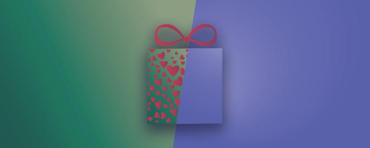 Η αγάπη στο δώρο φαίνεται.