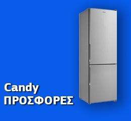 Ψυγειοκαταψύκτης Candy CMDNB 6186 X Inox A+++