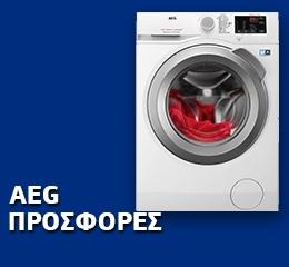 Πλυντήριο Ρούχων AEG L6FBI48S 8 kg A+++