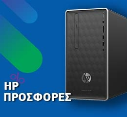 Desktop PC HP Pavilion 590-a0001nv (A6/4GB/1TB&128GB SSD/AMD Radeon)