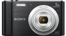 Φωτογραφική Μηχανή Sony DSCW800B Μαύρη