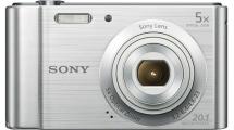 Φωτογραφική Μηχανή Sony DSCW800S Ασημί