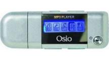 MP3 Player Osio SRM-7540S 4GB Ασημί