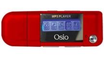 MP3 Player Osio SRM-7540R 4GB Κόκκινο