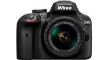 Φωτογραφική Μηχανή Nikon D3400 + AF-P 18-55VR Kit Μαύρη