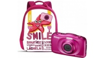 Φωτογραφική Μηχανή Nikon Coolpix W100 Ροζ Backpack kit