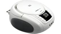Ράδιο CD Crystal Audio BMBU2W Λευκό