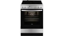 Κουζίνα Κεραμική Zanussi ZCV65020 XA Inox Α