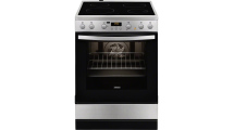 Κουζίνα Κεραμική Zanussi ZCV 65320 XA Inox Α