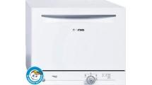 Πλυντήριο Πιάτων Pitsos POWERJET6 Λευκό 55 cm Α+
