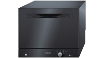 Πλυντήριο Πιάτων Bosch Serie 2 SKS51E26EU Μαύρο 55 cm Α+