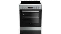 Κουζίνα Κεραμική Beko FSM 67320 DXT Inox Α