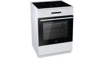 Κουζίνα Κεραμική Korting KEC 6141 WPG Λευκό Α