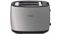 Φρυγανιέρα Philips HD2628/20 Μαύρο/Inox