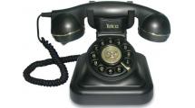 Ενσύρματο Τηλέφωνο Telco Vintage 20 Retro Μαύρο