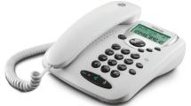 Ενσύρματο Τηλέφωνο Motorola CT2W Λευκό