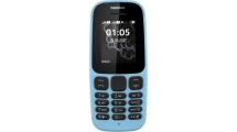 Κινητό Τηλέφωνο Nokia 105 2017 Dual Sim Blue