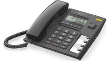 Ενσύρματο Τηλέφωνο Alcatel T56 Μαύρο