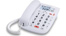 Ενσύρματο Τηλέφωνο Alcatel TMAX 20 Λευκό