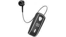 Bluetooth Handsfree Celly Clip On Retractable Black