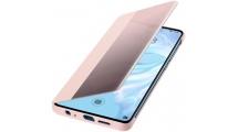 Θήκη Huawei P30 Smart View Flip Cover Pink
