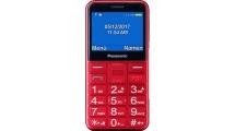 Κινητό Τηλέφωνο Panasonic KX-TU150EXR Dual Sim Red