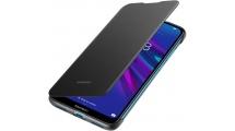 Θήκη Huawei Y6 2019 Flip Protective Cover Black