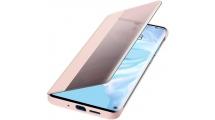 Θήκη Huawei P30 Pro Smart View Flip Cover Pink