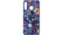 Θήκη Huawei P30 Lite TPU Colorful Flower Blue