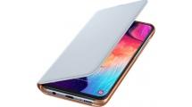 Θήκη Samsung Galaxy A50 Flip Wallet Cover White