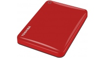 Εξωτερικός Σκληρός Δίσκος Toshiba Canvio Connect II 500GB 2.5'' USB 3.0 Red