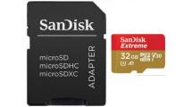 Κάρτα Μνήμης Sandisk Extreme MicroSD 32GB SDSQXAF-032G-GN6MA