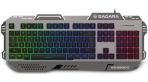 Πληκτρολόγιο Gaming Zeroground RGB KB-2300G SAGARA