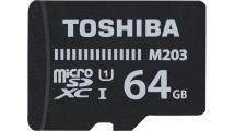 Κάρτα μνήμης Toshiba microSDXC 64GB M203 Class 10 With Adapter