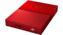 Εξωτερικός Σκληρός Δίσκος WD My Passport 1TB 2.5'' USB 3.0 Red