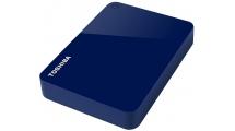 Εξωτερικός Σκληρός Δίσκος Toshiba Canvio Advance 1TB 2.5'' USB 3.0 Blue + PMT750