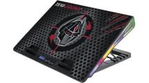 Βάση Laptop Cooler Zeroground RGB NTC-1200G SAKAI v2.0