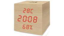 Μετεωρολογικός Σταθμός Life WES-105 Cube Wooden