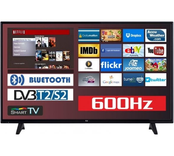 TV F&U FLS43206 43'' Smart Full HD