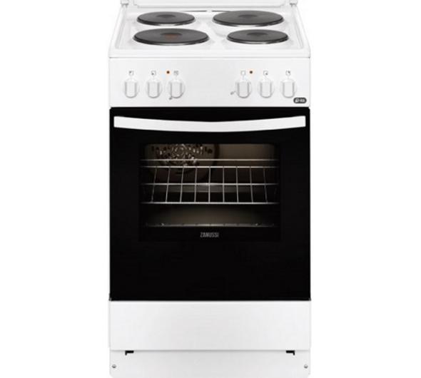 Κουζίνα Zanussi ZCE550G1WA Λευκό A