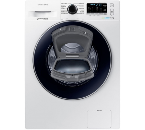 Πλυντήριο Ρούχων Samsung WW90K5410UW AddWash 9 kg A+++
