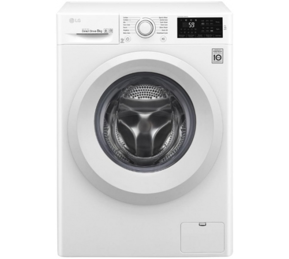 Πλυντήριο Ρούχων LG F4J5TN3W 8 kg A+++