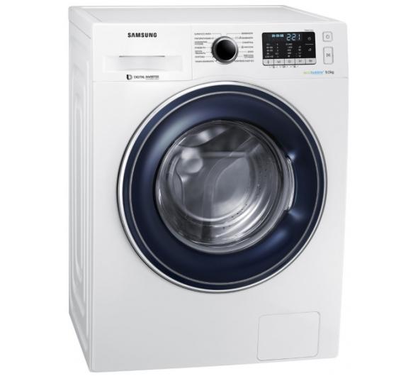 Πλυντήριο Ρούχων Samsung WW90J5445FW Eco Bubble 9 kg A+++