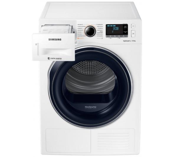 Στεγνωτήριο Ρούχων Samsung DV90M6200CW 9 kg A+++