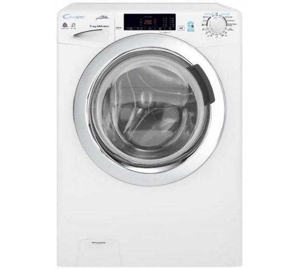 Πλυντήριο - Στεγνωτήριο Candy Easy Iron GVSW 496TWC/5-S 9 kg/6 kg Α