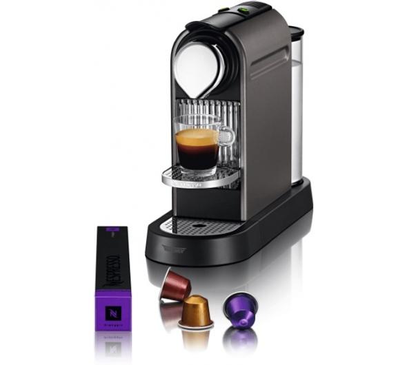 Καφετιέρα Nespresso Krups Citiz XN740BS Ασημί