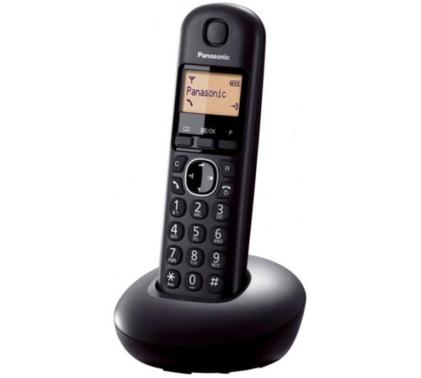 Ασύρματο Τηλέφωνο Panasonic KX-TGB210GRB Μαύρο & KX-TGB210GRR Κόκκινο