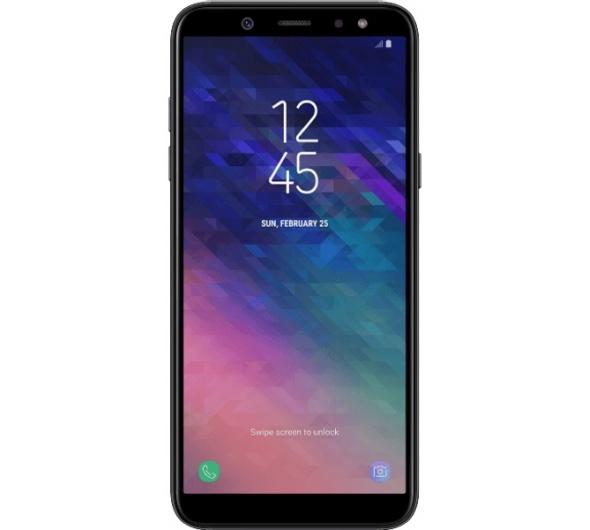 Smartphone Samsung Galaxy A6 32GB Dual Sim Black